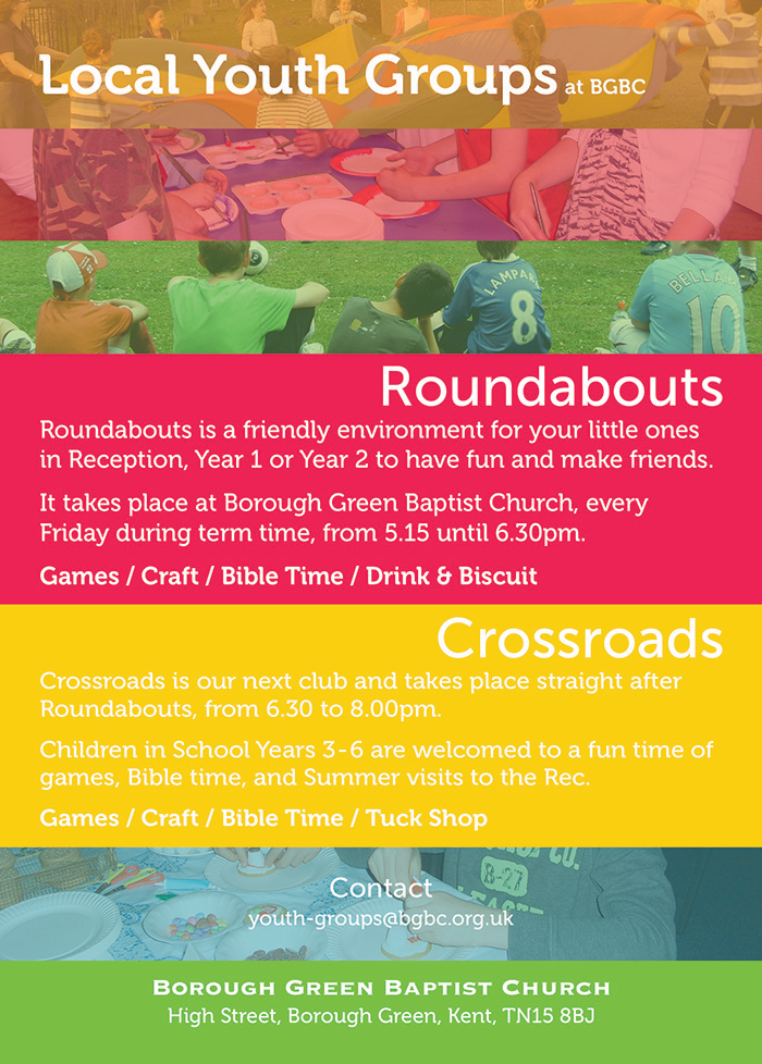 Church Childrens Club Flyer Design