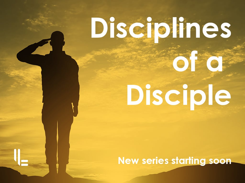 Discipline Sermon Series Design - ChurchTrain