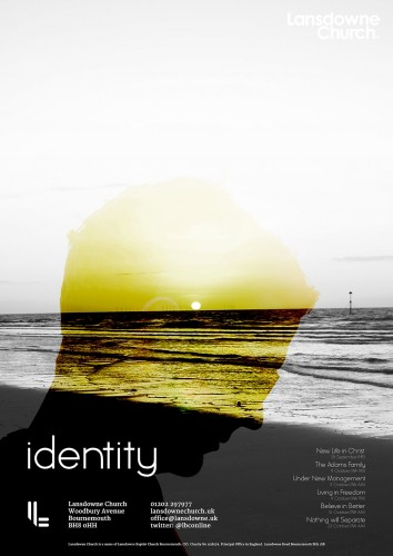 Identity Sermon Poster Design - ChurchTrain