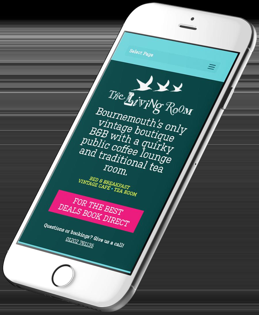 Joe Gallant B&B Website Design Responsive