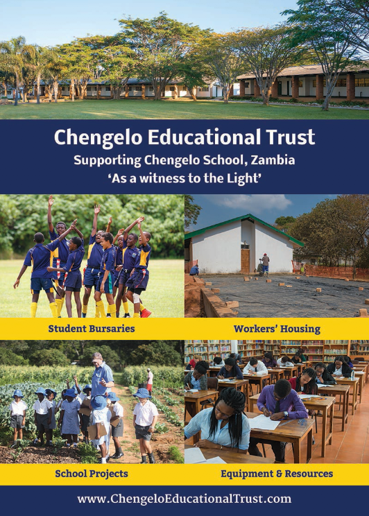 Chengelo Flyer Design for UK Charity – Joe Gallant